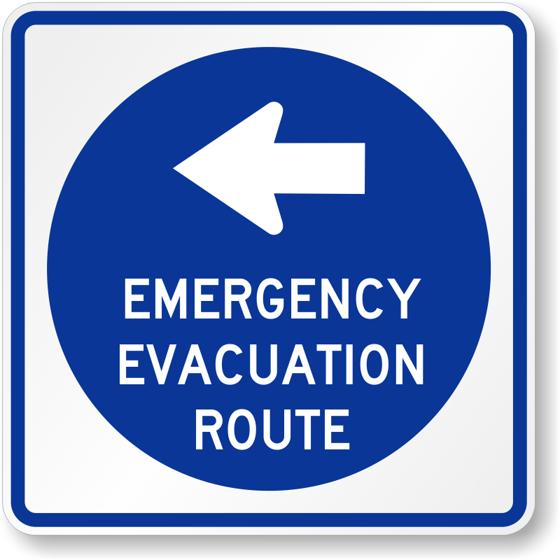 Home Fire Evacuation Plan Modern Design And