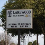 "Sign at a Florida High School Sends Literacy Efforts ""Laeping"" in the Wrong Direction"