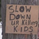 Neighborhood Posts Fake Stop Sign to Save Kids