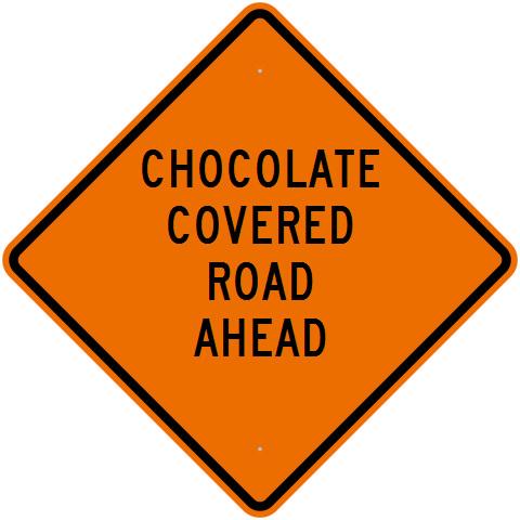 Custom-made sign at RoadTrafficSigns.com