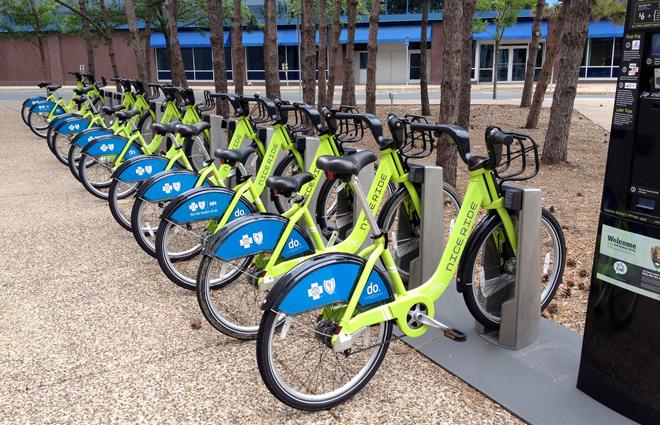 bike share docking station