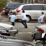 Parking lot in school playground kills activity space for children in Newark