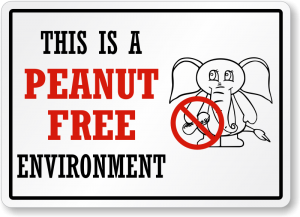 peanut-free-environment-sign-s-6057