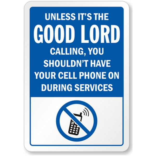 Phones In Church Digital Distractions Or A New Way To