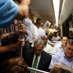 How to evacuate a subway