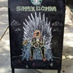Your 5 basic types of funny sidewalk chalkboard signs