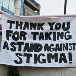 Positive signs promote stigma-free zone