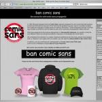 Designers give Comic Sans an edge