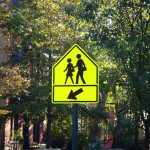 Researchers claim that packing action into road signs will prevent accidents