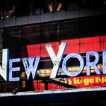 The neon of New York City