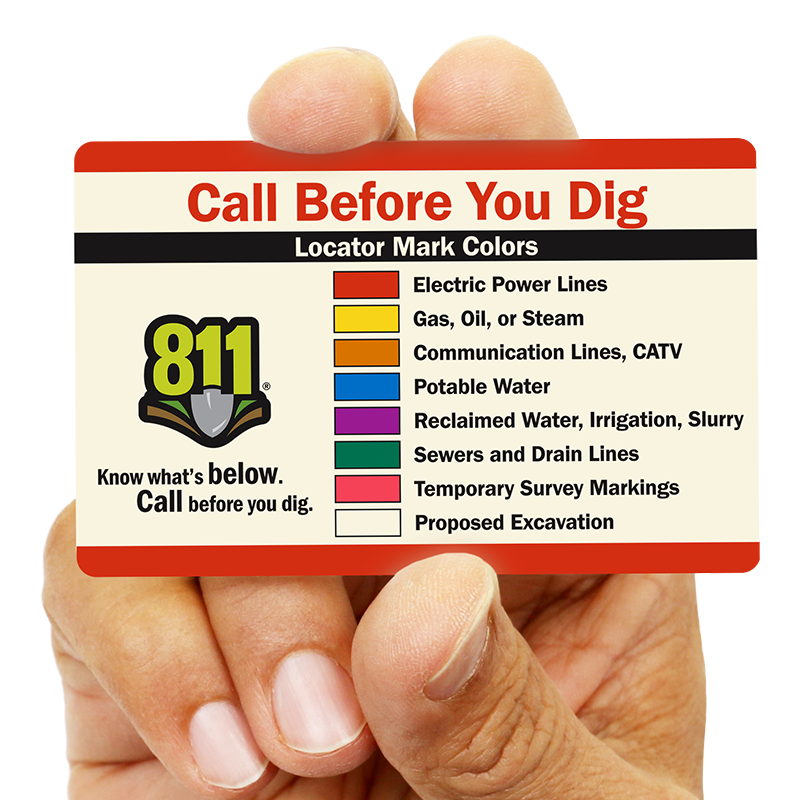 Color Codes for Buried Lines - APWA | SmartSign Blog
