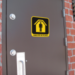 Can People See Your Shelter in Place Signs?