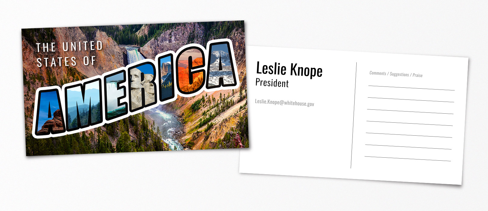 Business cards for pop cultures best characters smartsign blog leslie knope parks and recreation magicingreecefo Images
