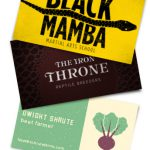 Business Cards for Pop Culture's Best Characters