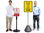 Heavy Duty Sign Bases