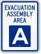 Emergency Evacuation Sign