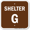 Evacuation Assembly Area Campground Sign