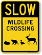 Critter Crossing Sign